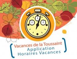 Changement horaires - Vacances de la Toussaint