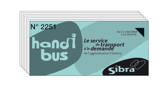 Handibus tickets