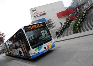 Bus articulé Annecy ville