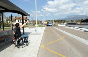 Aménagement des arrêts pour garantir leur accessibilité
