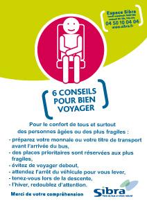 Affiche 6 conseils pour bien voyager