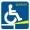 3eme pictogramme pour les personnes à mobilité réduite