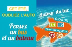 Actualité Lignes Lac Bus & Bateau