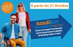 Service Handibus - Octobre 2019