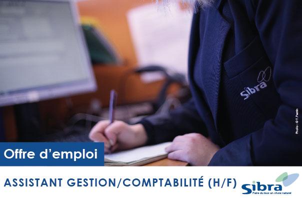 Recrutement Assistant Gestion/Comptabilité