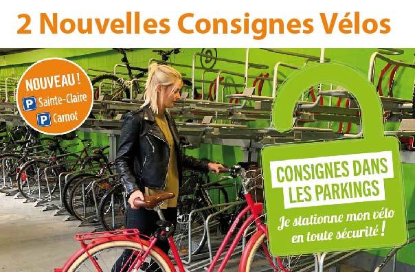 2 nouvelles consignes à vélos