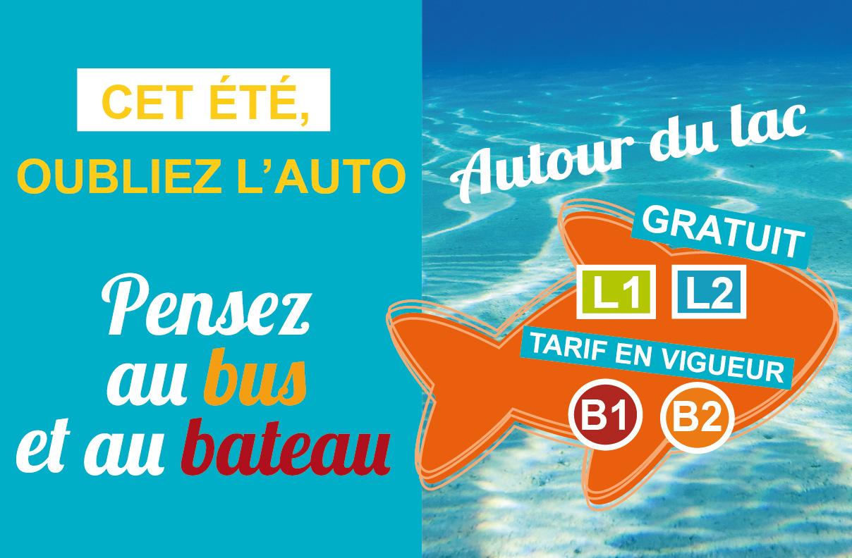 Actualité Lignes Lac Bus & Bateau 2021