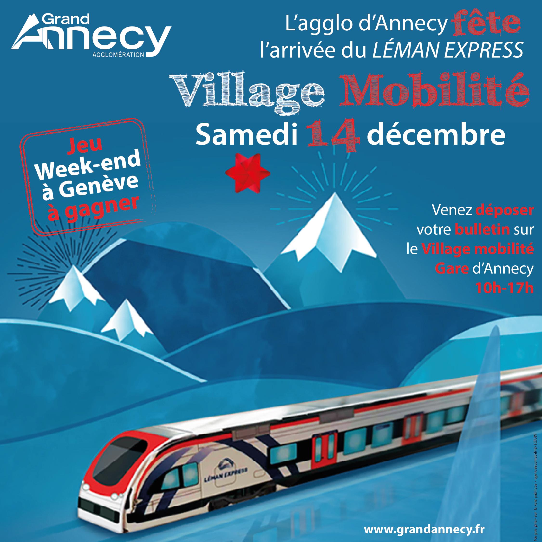 Village Mobilité Léman Express