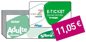 Carnet 10 tickets