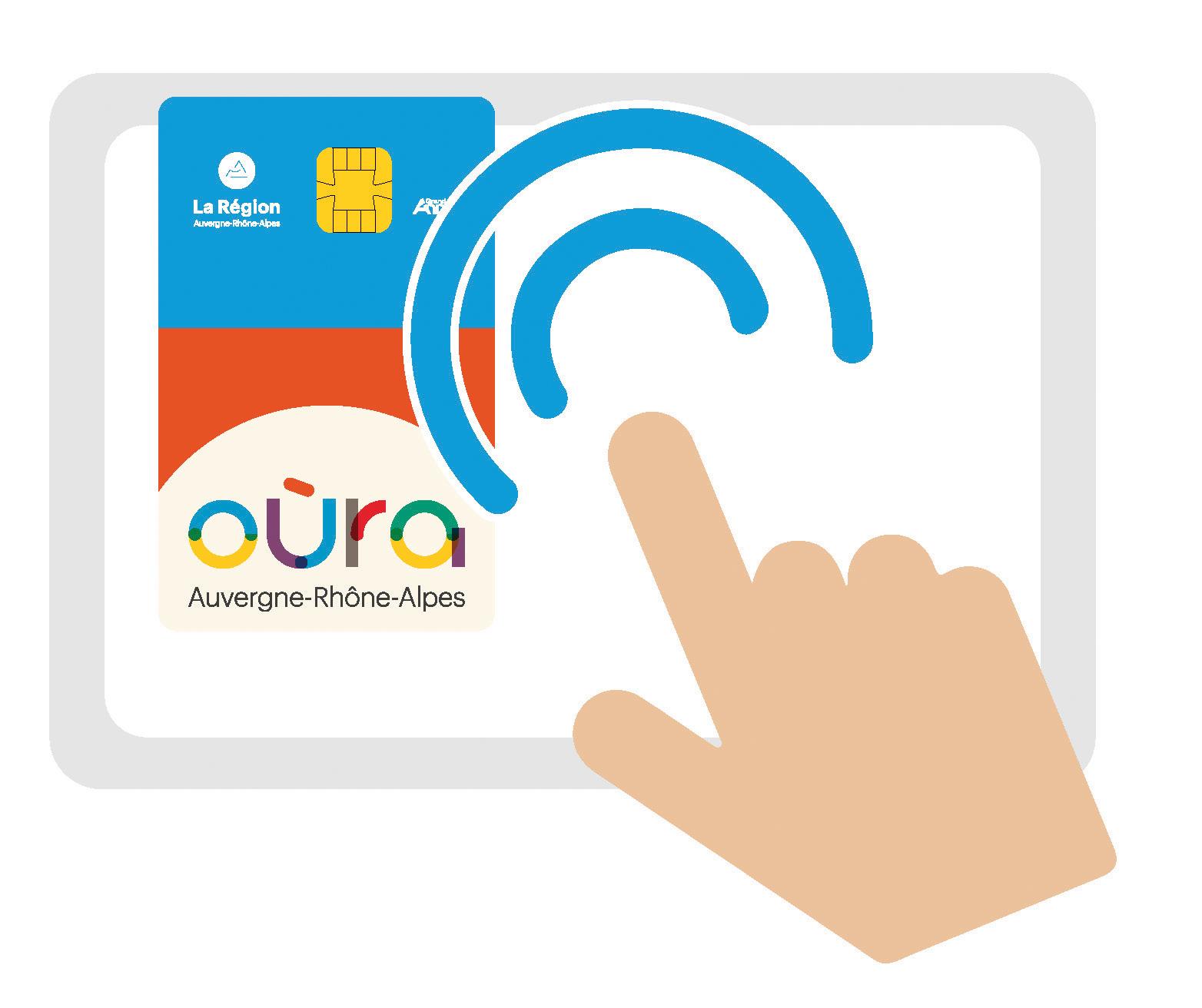 Main avec carte - Boutique en ligne