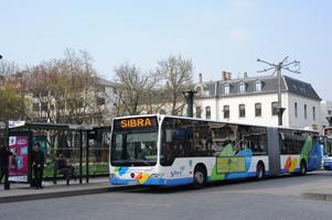 Bus Sibra pôle d'echanges