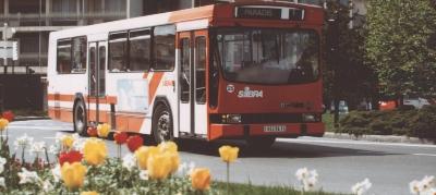 Bus SIBRA en 1980
